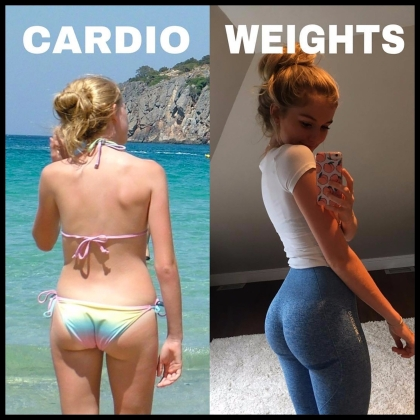 Cardio-vs-Weights-Transformation